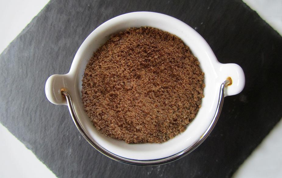 Small bucket with Acorn flour